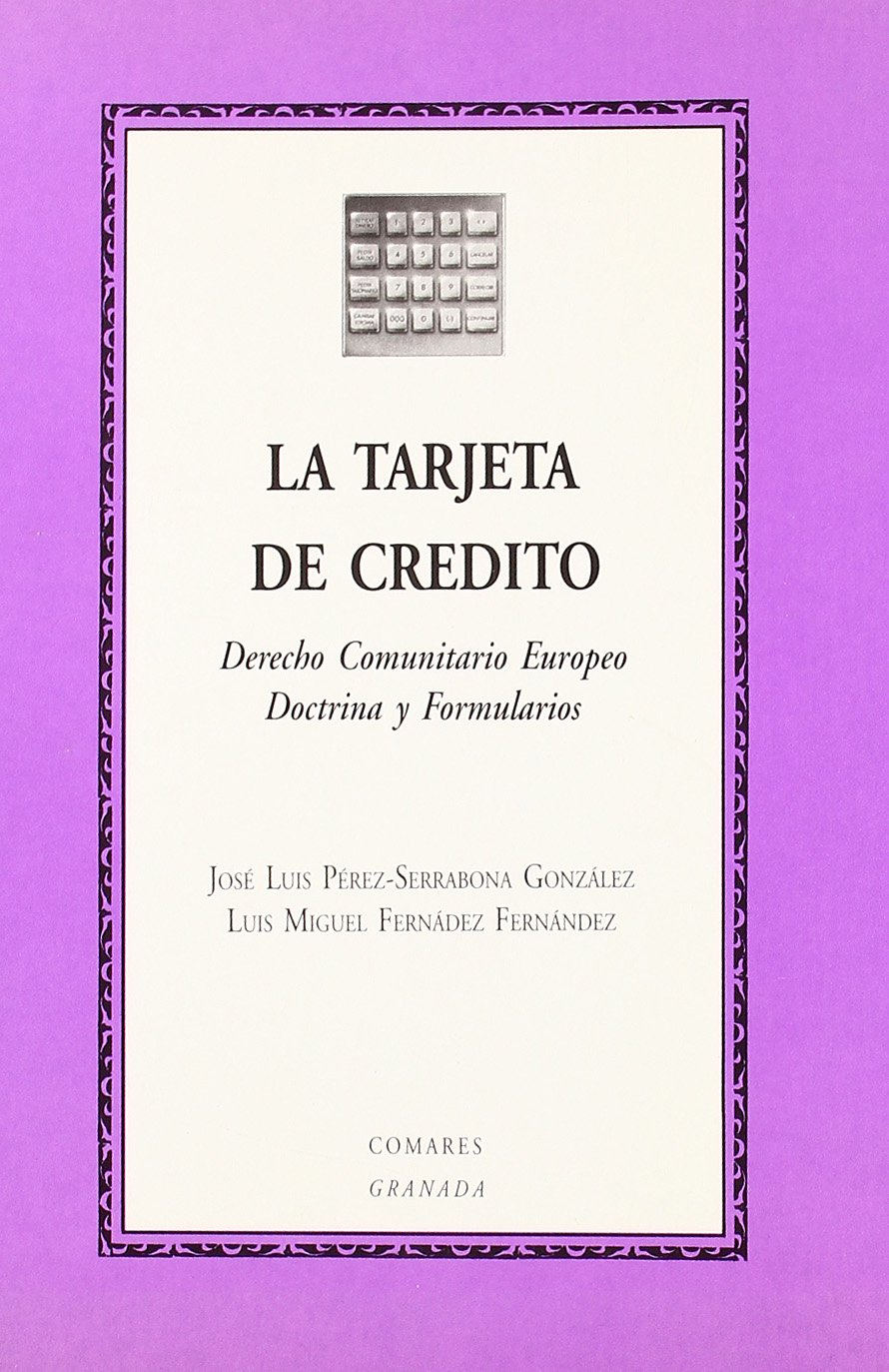TARJETA DE CREDITO: 9788481510195: Amazon.com: Books