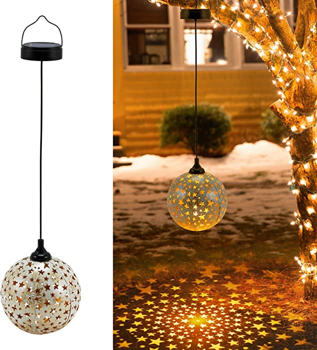 The Best Solar Powered Hanging Outdoor Garden Light