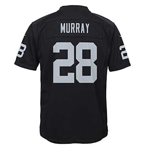 sports shoes e1ffe bd414 Amazon.com : Nike Latavius Murray Oakland Raiders Home Black ...