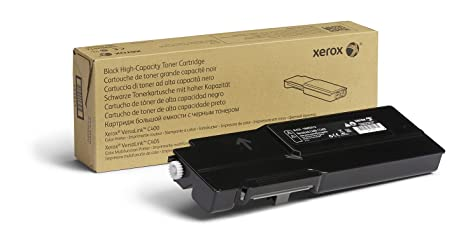 Amazon.com: Genuine Xerox Black High Capacity Toner Cartridge, 106R03512-5000 Pages for use in VersaLink C400/C405: Office Products