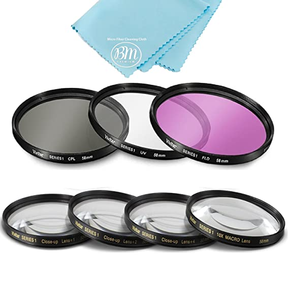 Review 58mm 7 Piece Filter