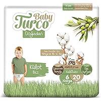 Baby Turco Doğadan Külot Bez, 6 Beden, 20 Adet