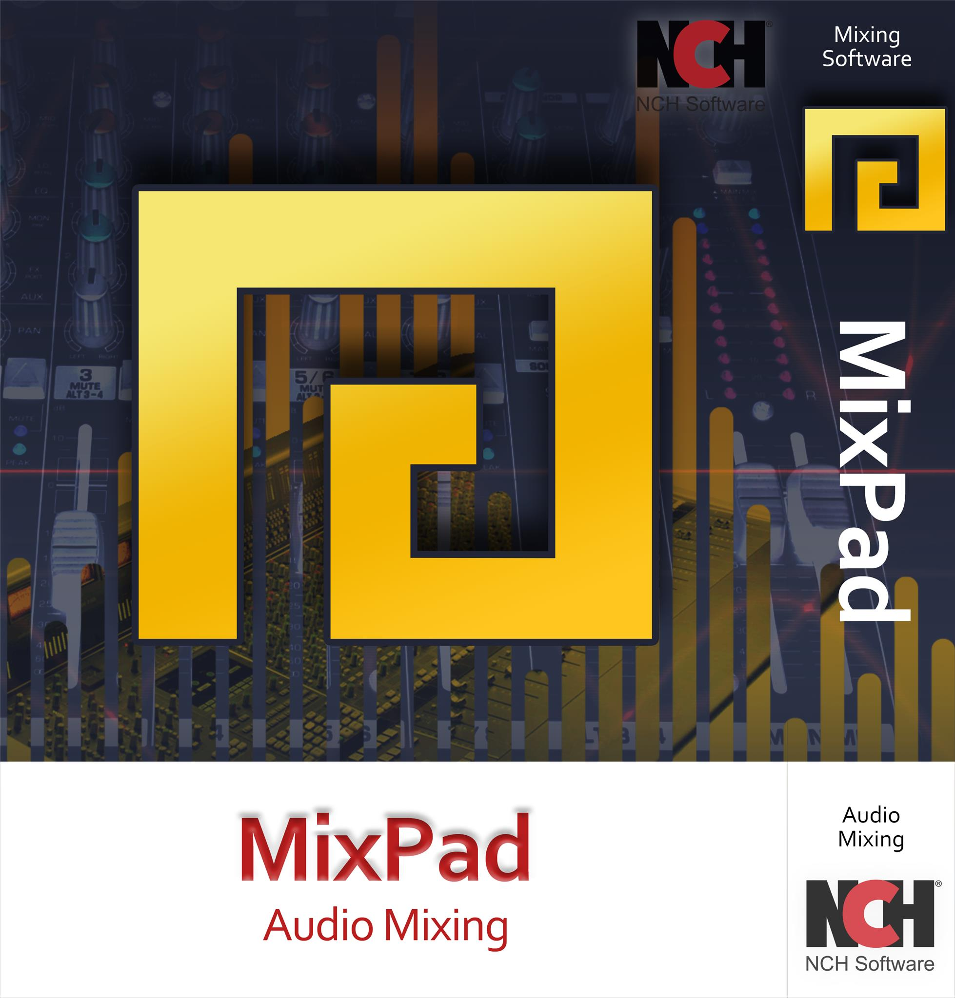 MixPad Multitrack Recording Software for Sound Mixing and Music Production [Download] by NCH Software