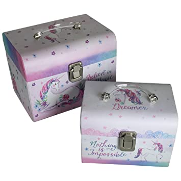 Unicorn Magic Trinket Box Gift Collectable