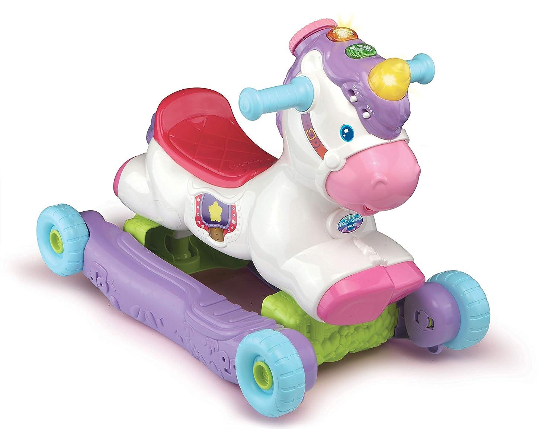 VTech 192303 Rock & Ride Unicorn - Juego de Preescolar: Amazon.es: Juguetes y juegos