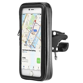 MidGard - Universal Impermeable Soporte Móvil para Bicicleta Motocicleta de montaje bolsa para el teléfono celular 5.2 pulgadas