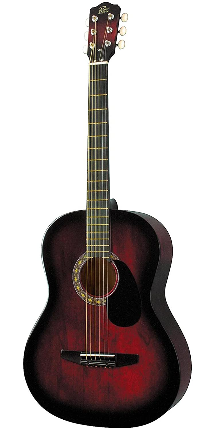 Amazon rogue starter acoustic guitar red burst musical amazon rogue starter acoustic guitar red burst musical instruments jeuxipadfo Gallery