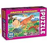 Creative Educational Aids 0724 Amazing Dinosaurs Puzzle (100 Piece)