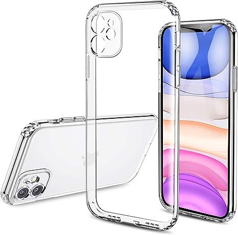 Besike Iphone 11 Hülle Transparent Clear Case Elektronik
