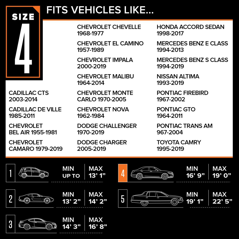 Budge UA-0 Tan Fits 162 L x 59 W x 60 H SUV Cover
