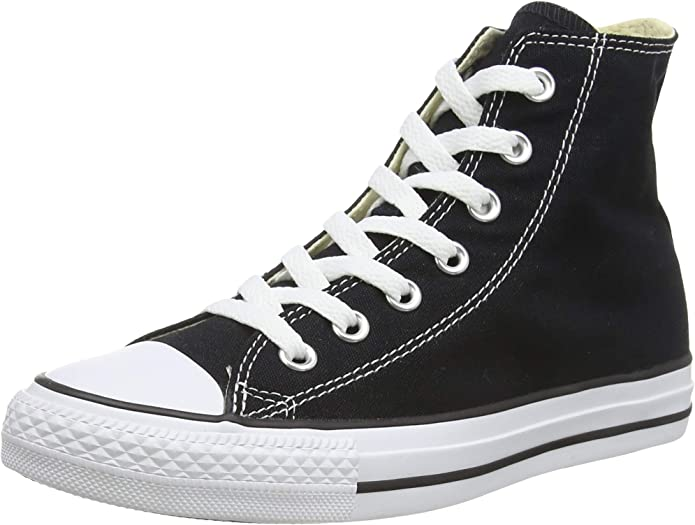 Converse Chucks (Chuck Taylor) All Star High Top Unisex Damen Herren Schwarz/Weiß