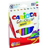 Renk Değiştiren Sihirli Keçeli Kalemler (9 Renk + 1 Renk Değiştirici Beyaz Kalem)