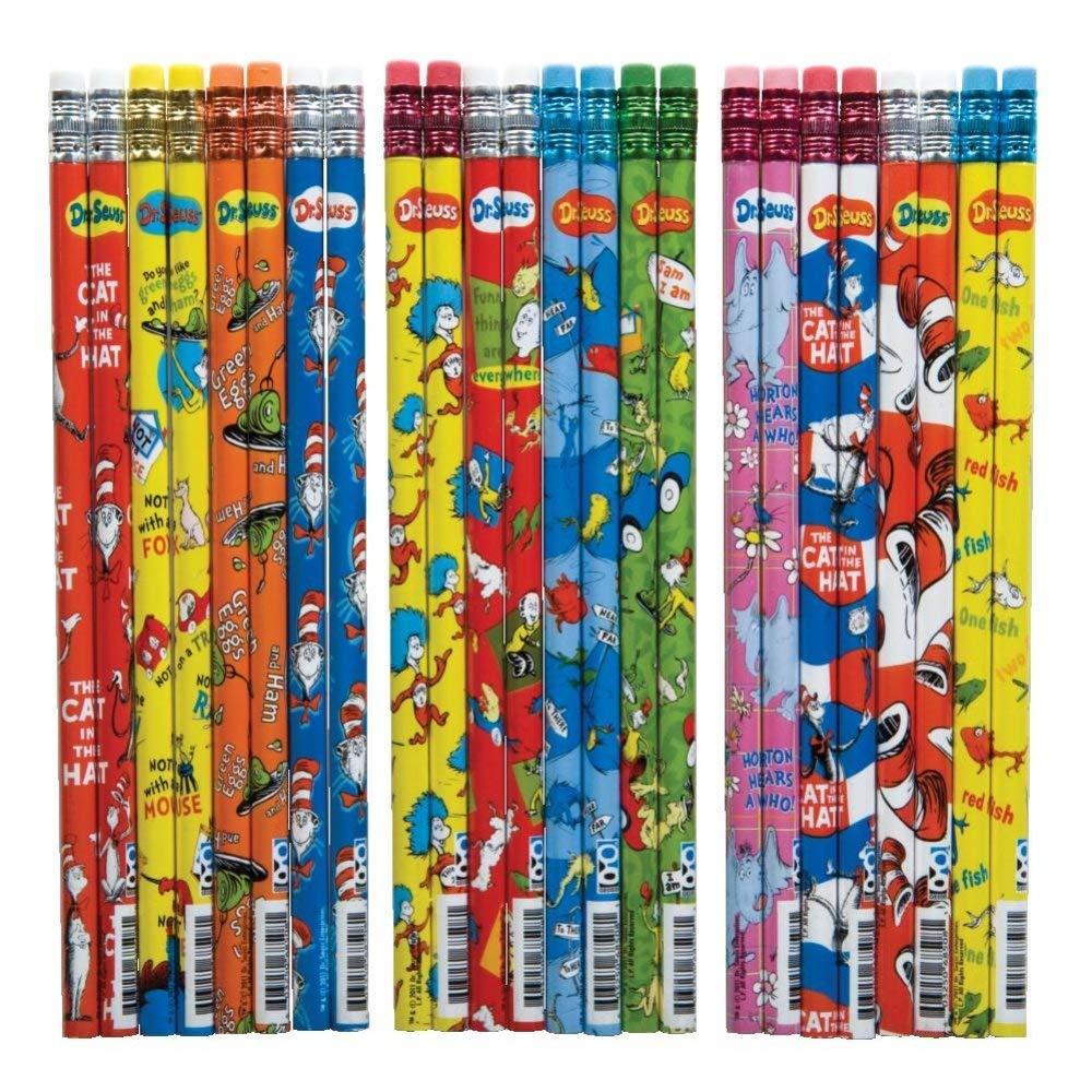 Raymond Geddes Dr. Seuss Pencil Too, 72 Pack (68508) (Fоur Paсk) by Raymond Geddes (Image #2)