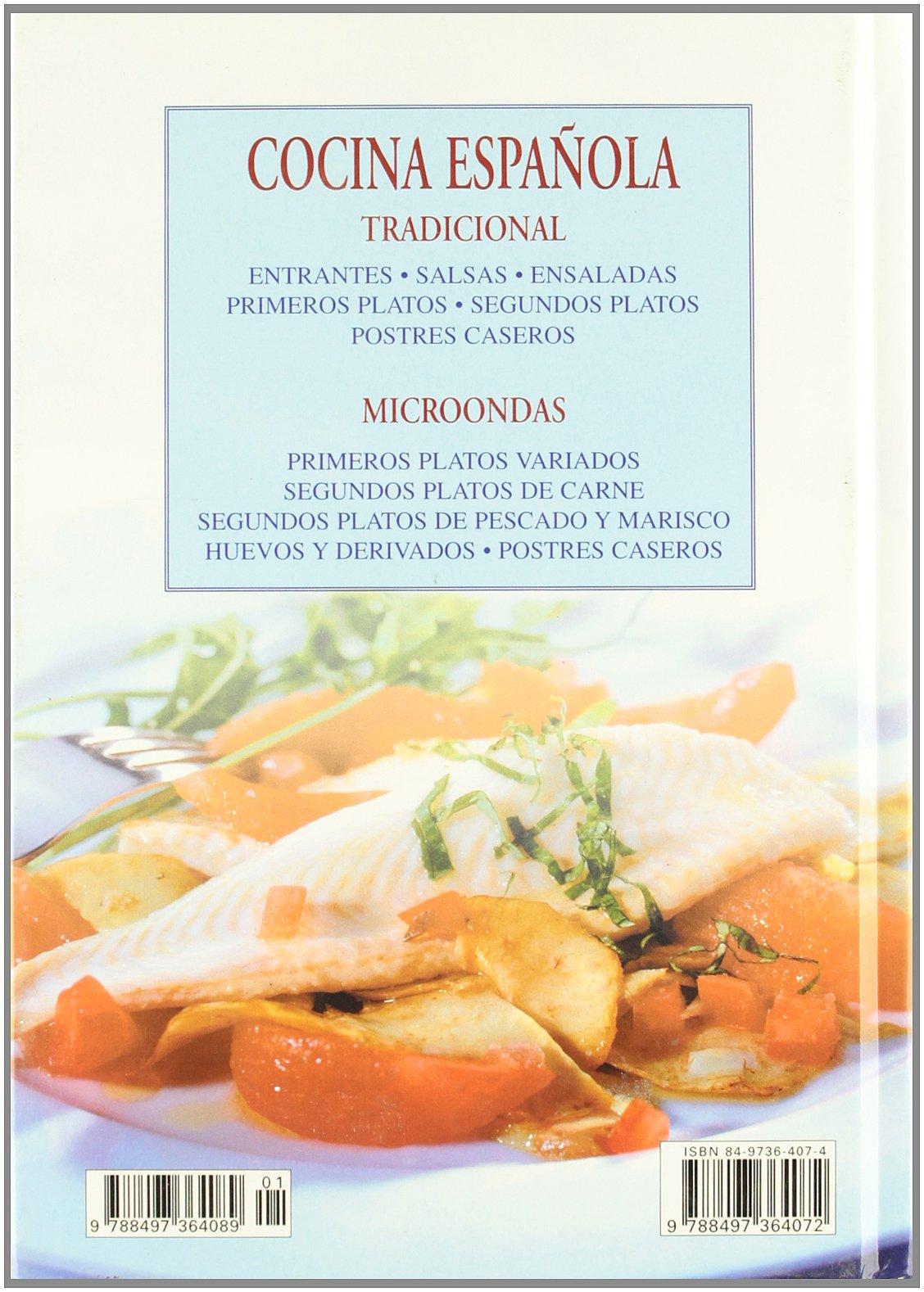 Cocina Espanola Tradicional y de Microondas (Spanish Edition): Gloria Sanjuan: 9788497364072: Amazon.com: Books