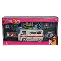 Simba 109309863 - Playset Ambulanza Masha con Personaggi e Accessori