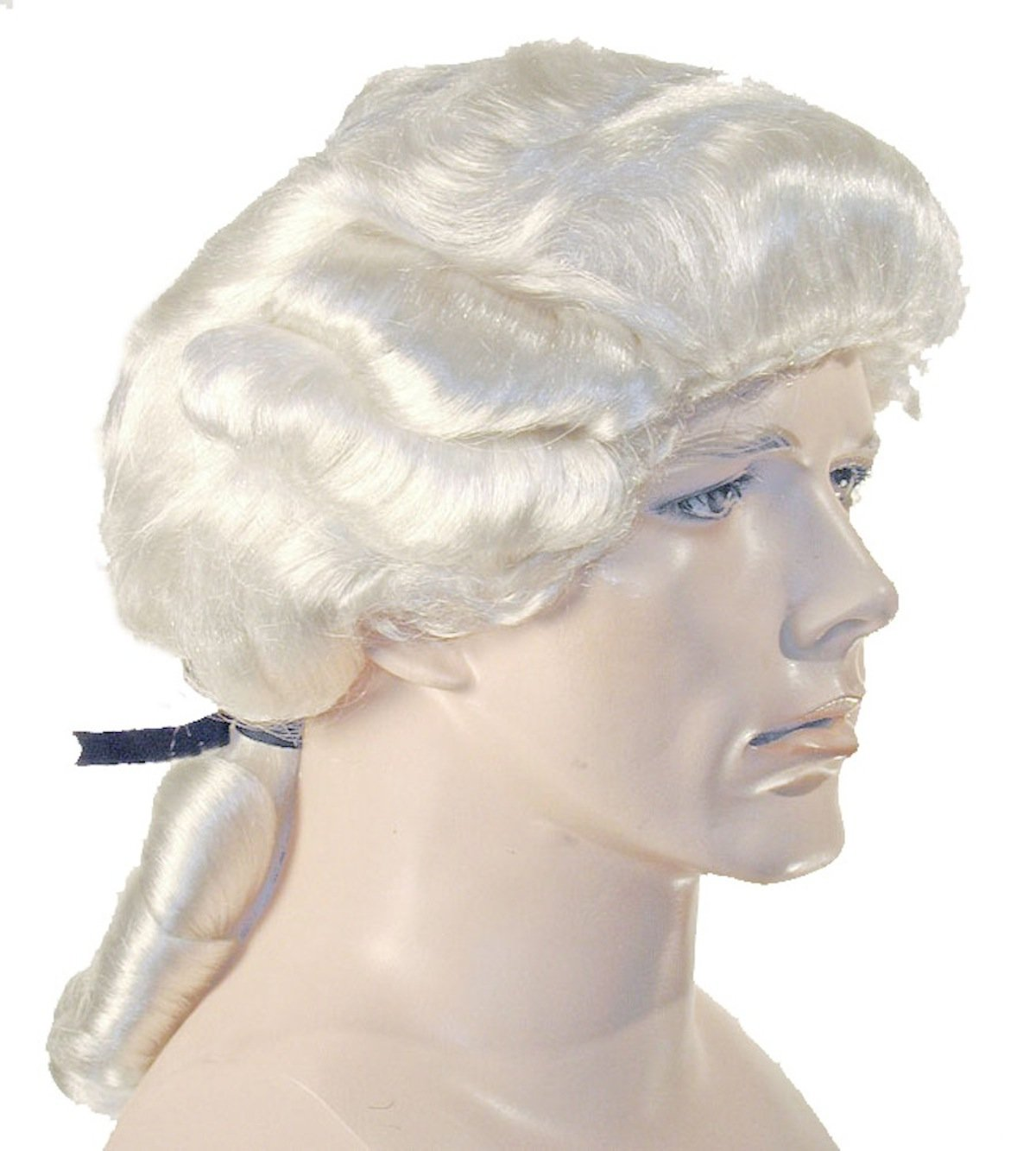 Deluxe Colonial Man Wig - One Size