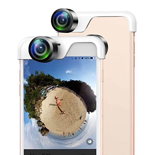 USAMS 360 Degree Panoramic Camera Lens Capture 360 Degree Photos Sharing To Your Social Medias for