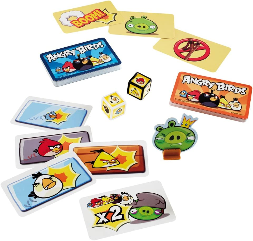 Angry Birds CARD GAME-età 5+ 2 a 5 giocatori-basato su App!