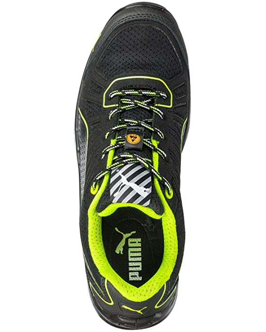 Safety Puma Ct Fuse Bo green Men's Black sohBtQrdCx
