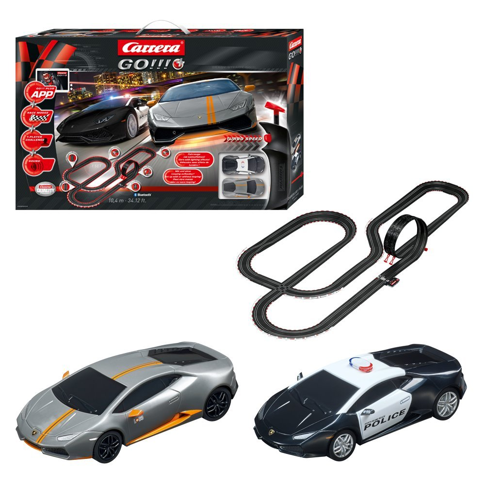 Carrera GO!!! Plus - Night Chase (20066004): Amazon.es: Juguetes y juegos