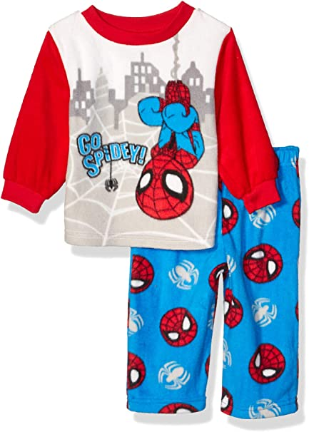 New Spiderman toddler boys pajamas size 12M 18M 24M 3T 4T 5T glow in the dark