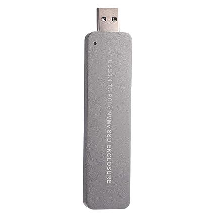 Binchil LM903 USB3.1 a PCI-E NVME M.2 Tipo-A SSD Caja de Disco ...