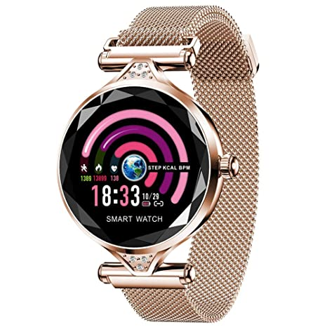 CYGGJ Fitness Tracker Smart Watch H1, Pantalla táctil ...