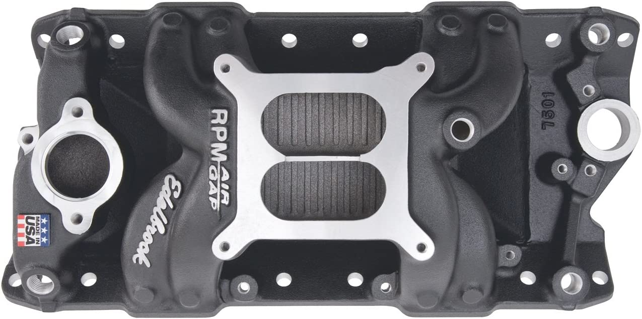 Edelbrock 75013 RPM Air-Gap Intake Manifold