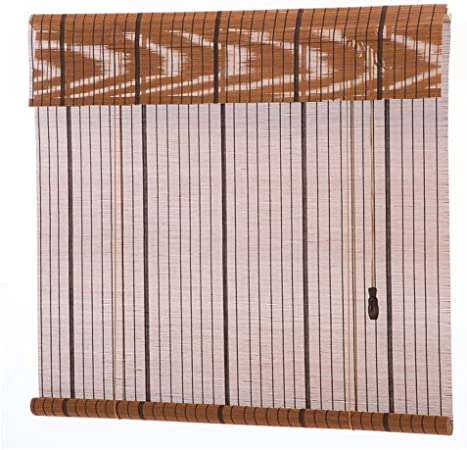 Persiana de bambú Cortinas Enrollables para Exteriores del Jardín Al Aire Libre, Persianas Enrollables De Bambú para Persianas De Puertas De Ventanas Interiores, 85cm / 105cm / 125cm / 145cm De Ancho: