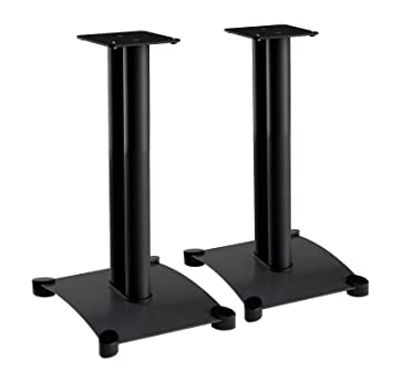speakers with stands. sanus steel series 22\u0026quot; speaker stands for medium to large bookshelf speakers with e