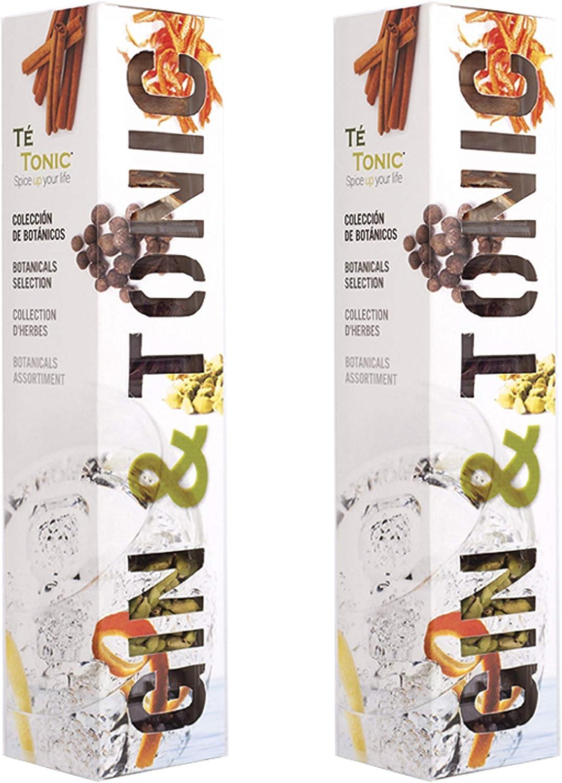 2 x Estuche de 7 Botanicos y Aromas para Gin & Tonic - Regalo Gin Gift Box: Amazon.es: Hogar