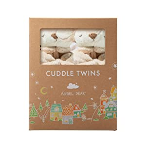 Angel Dear Cuddle Twin Set, Fawn