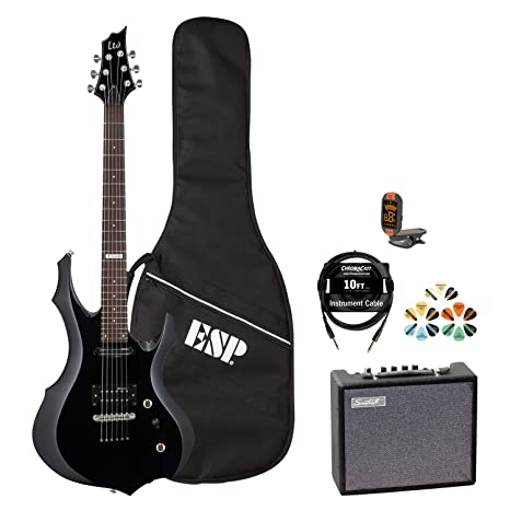 ESP F JB-F10KIT-BLK-KIT-5 - Guitarra eléctrica con ...