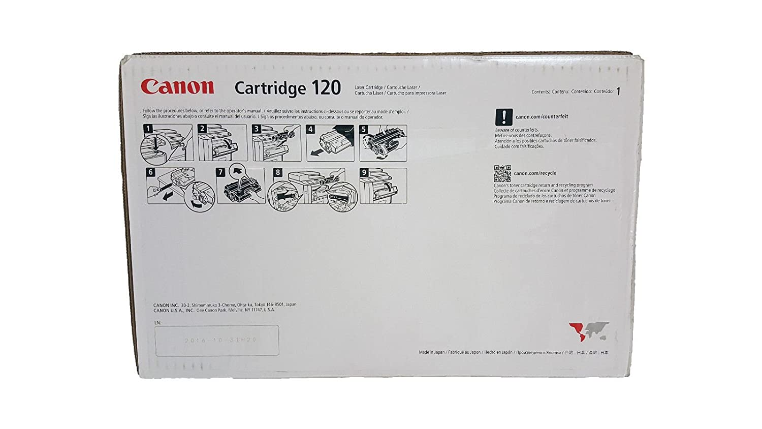 Canon Imageclass D1350 Toner Cartridge Oem Made By Upper Red Premium Ir 5000 Office Products