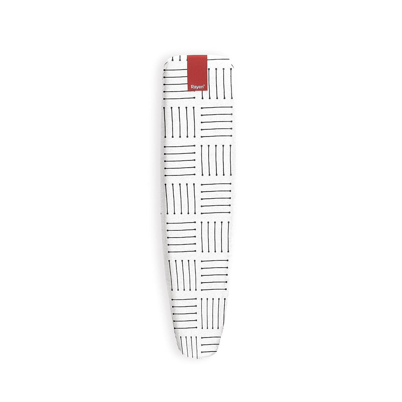 Rayen 6324 Housse pour Jeannette Coton/Caoutchouc/Mousse Blanc 61,5 x 21,5 x 2 cm