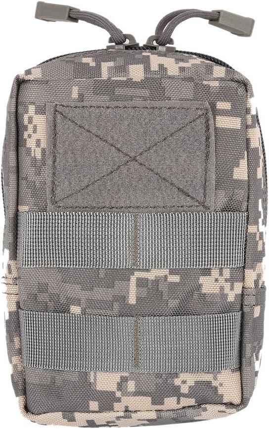 Multitool Molle Pouch Tool Zipper Paquete de Cintura Yalatan T/áctico 1000D Bolsa de Cintura para Exteriores Accesorio de Caza Bolsa de cintur/ón Duradera