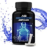 AmmoniaSport Athletic Smelling Salts - Ampules (25) Ammonia Inhalant - Smelling Salts - Powerlifting Smelling Salts…