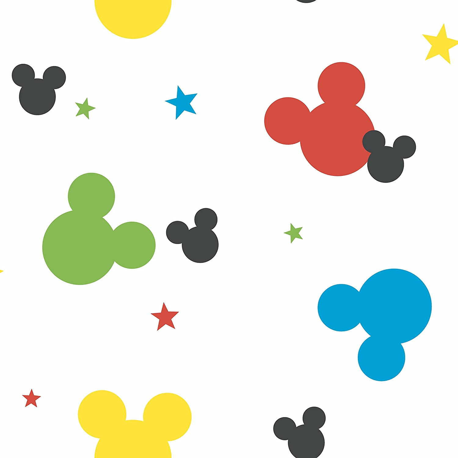 Amazon York Wallcoverings Dy0208 Kids Iiiディズニーミッキー
