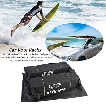 Universal General Auto Suave Portaequipajes de techo en el techo ...