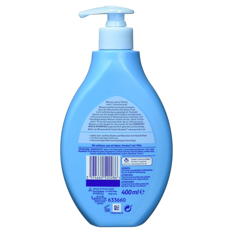 Penaten Baby Bad & Shampoo, 400 ml: Amazon.de: Amazon Pantry