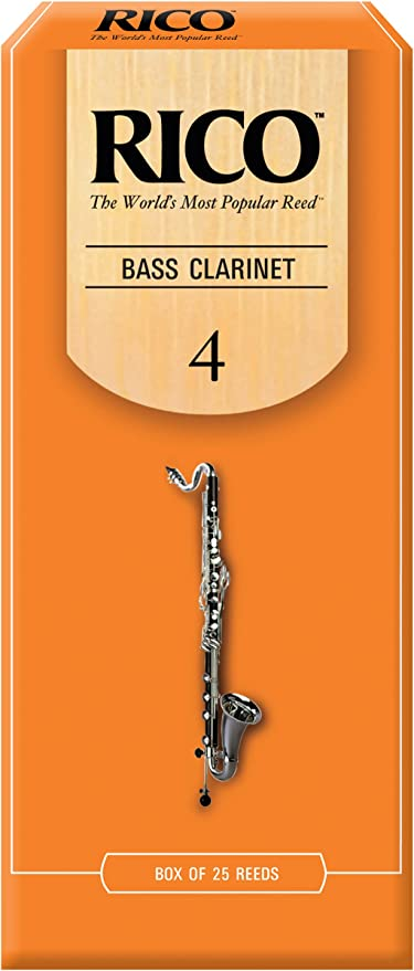 Rico Bb Clarinet Reeds Strength 2.5 25-pack