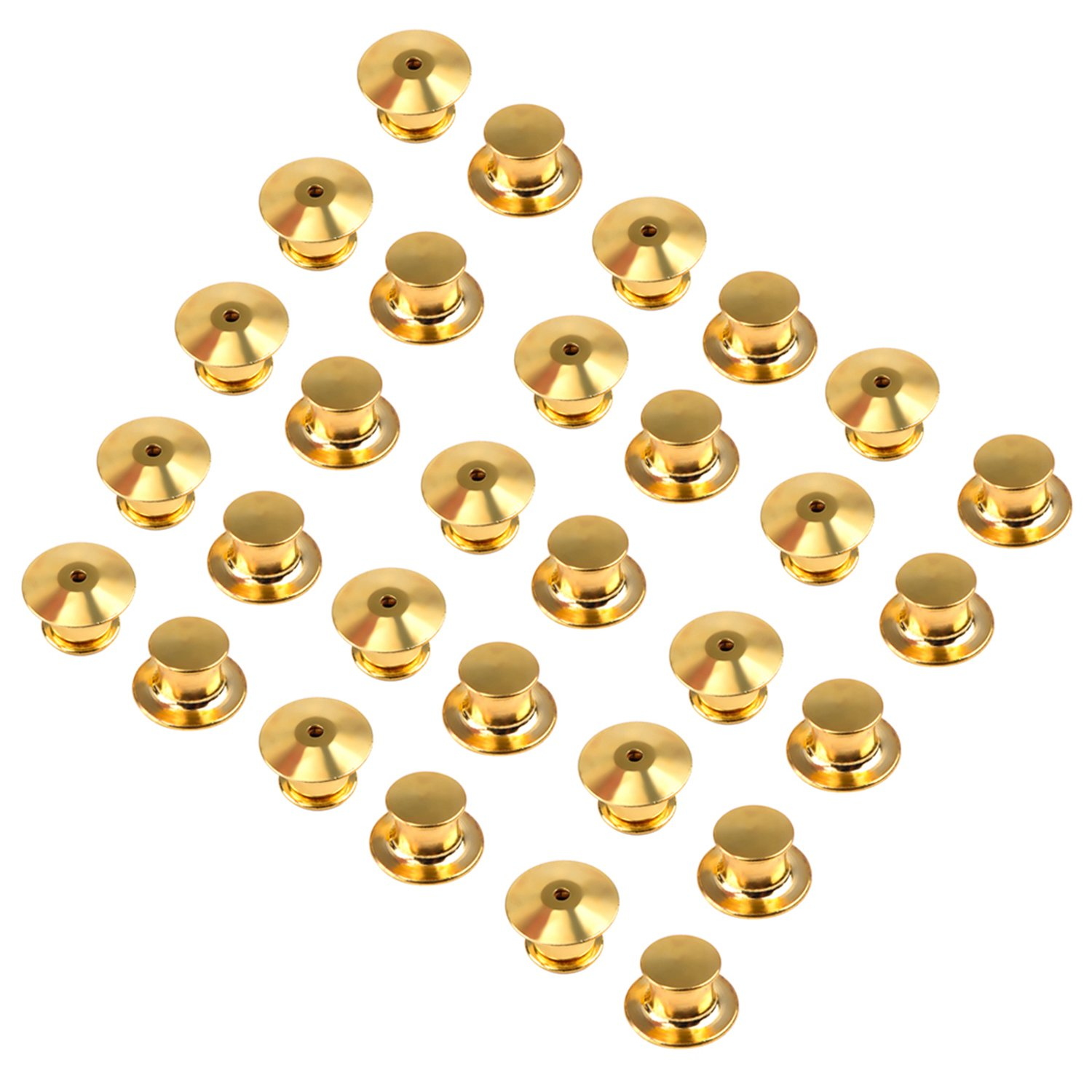 No Tool Required eBoot 30 Pieces Golden Locking Pin Keepers Backs