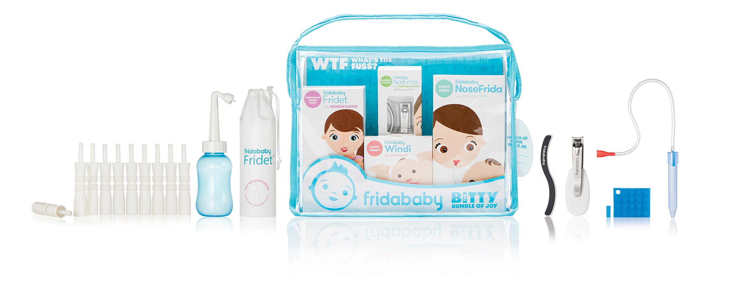 Fridababy Bitty Bundle of Joy Mom & Baby Healthcare and Grooming Gift Kit by FridaBaby (Image #2)