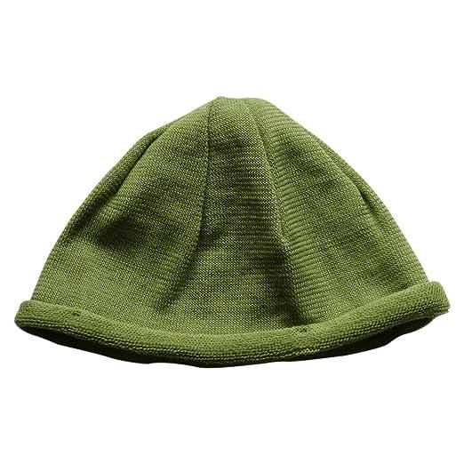 1ff4fc7ccc3 Amazon.com  EcoAble Apparel Merino Wool Baby Kids Beanie Hat  Clothing