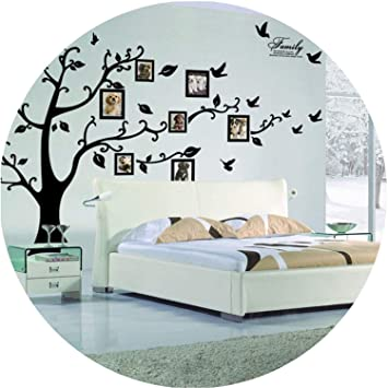 Amazon Com 3d Sticker On The Wall Black Art Photo Frame