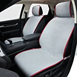 Car Seat Cushion, Universal Four Seasons Seat Cover Comfortable Car Seat Pad Mat Anti-Slip Car Seat Protector for Vehicle Supplies - Fit for Most Car, Truck, Suv, or Van (2 Pack)
