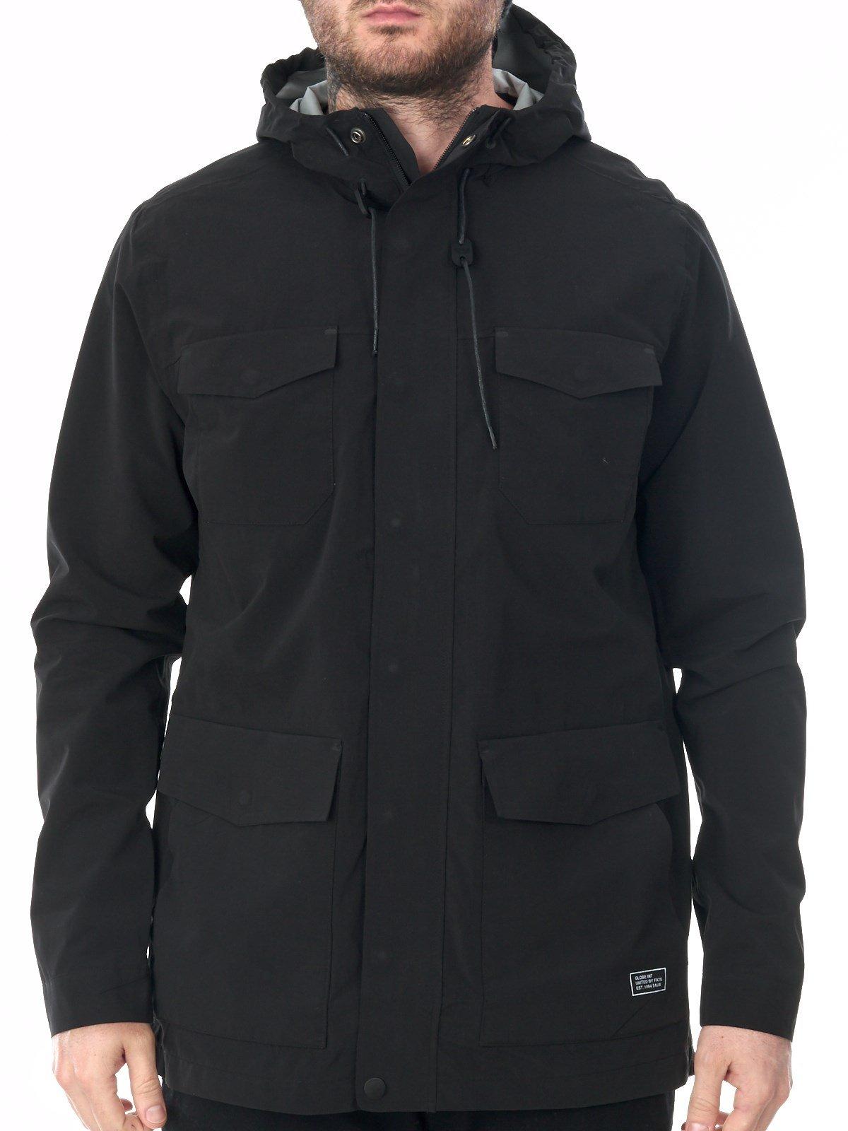 Globe Black Hikari Legacy Waterproof Jacket (S, Black)