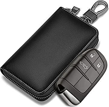 Faraday Bag for Key Fob, Todoxi Faraday Key Fob Protector Car RFID Signal Blocking, Anti-Theft Pouch, Anti-Hacking Case Blocker
