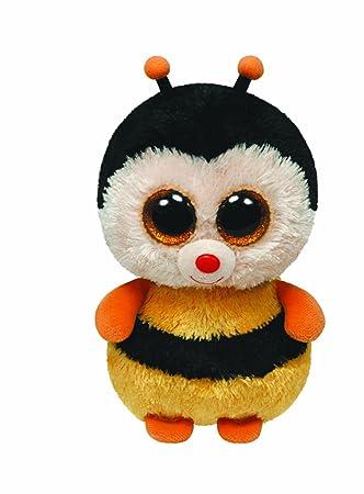 peluche - TY Sting Biene Beanie Boos 15 cm, Juguete