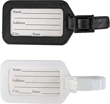 Seals Luggage Tags Suitcase Labels Bag Travel Accessories Set of 2